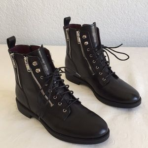 Marc by Marc Jacobs Zip Lace Boots